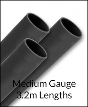 3.2m Self Colour Medium Gauge Tube/Pipe