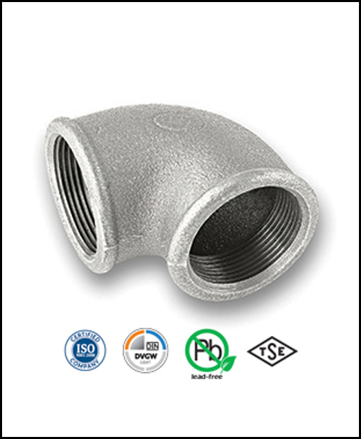 Galvanised Malleable Iron Pipe Fittings EN10242 (BS1256)