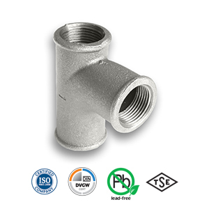 Galvanised Pitcher Malleable Pipe Fitting