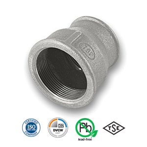 Galvanised Reducing Socket Malleable Pipe Fitting