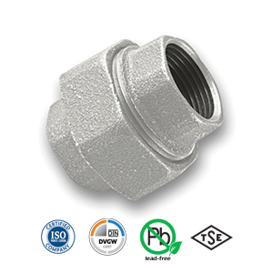 Galvanised FxF Union Malleable Pipe Fitting