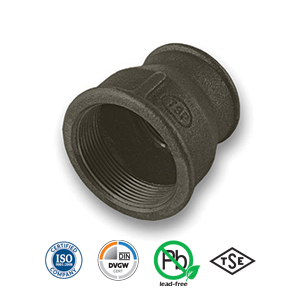 Black Reducing Socket Malleable Pipe Fitting