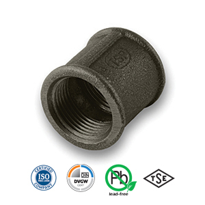 Black Socket Malleable Pipe Fitting