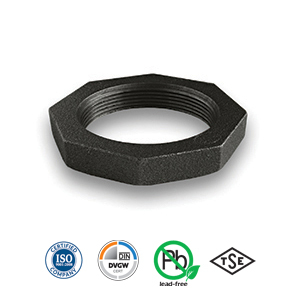 Black Backnut Malleable Pipe Fitting