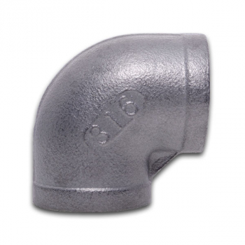 BSPP 45° FxF Elbow 150lb 316 Stainless Steel