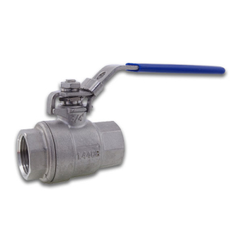 BSPP 2 Piece Full Bore Ball Valve