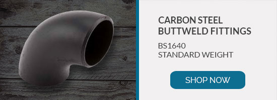 Buy BS1640 carbon steel buttweld fittings online