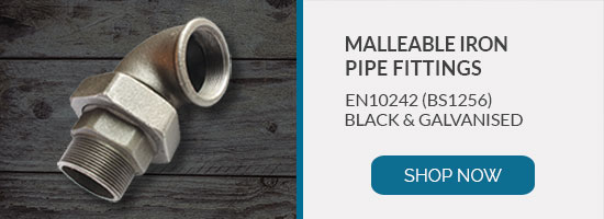 Buy malleable iron pipe fittings to EN10242 BS1256